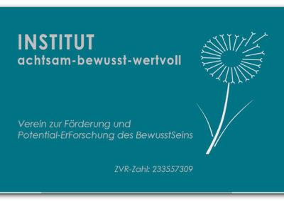 Institut achtsam-bewusst-wertvoll